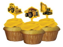 Creative Converting 091590 Construction Birthday Zone Cupcake Toppers (Case of 144)