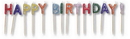 Creative Converting 101712 Pick Candle, W/Gltr Hpy B'Day (Case of 12)