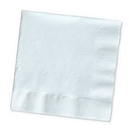 Creative Converting 139140135 White Luncheon Napkin, 2 Ply, Solid (Case of 600)