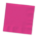 Creative Converting 139197154 Hot Magenta Beverage Napkin, 2 Ply, Solid (Case of 600)