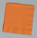 Creative Converting 139352154 Sunkissed Orange Beverage Napkin, 2 Ply, Solid (Case of 600)