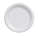 Creative Converting 28000031 White Banquet Plate, Plastic Solid (Case of 240)