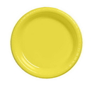 Creative Converting 28102021 Mimosa Dinner Plate, Plastic Solid (Case of 240)