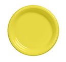 Creative Converting 28102031 Mimosa Banquet Plate, Plastic Solid (Case of 240)