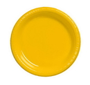 Creative Converting 28102131B School Bus Yellow Banquet Plate, Plastic, Solid Bulk (Case of 600)