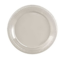 Creative Converting 28114131 Clear Banquet Plate, Plastic Solid (Case of 240)