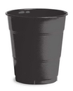 Creative Converting 28134071 Black Velvet Plastic Cups, 12 Oz Solid (Case of 240)