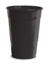 Creative Converting 28134081 Black Velvet Plastic Cups, 16 Oz Solid (Case of 240)