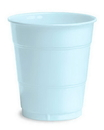 Creative Converting 28157071 Pastel Blue Plastic Cups, 12 Oz Solid (Case of 240)
