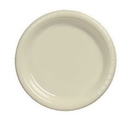 Creative Converting 28161021 Ivory Dinner Plate, Plastic Solid (Case of 240)