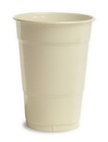 Creative Converting 28161081 Ivory Plastic Cups, 16 Oz Solid (Case of 240)