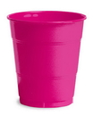Creative Converting 28177071 Hot Magenta Plastic Cups, 12 Oz Solid (Case of 240)