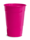 Creative Converting 28177081 Hot Magenta Plastic Cups, 16 Oz Solid (Case of 240)