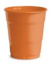 Creative Converting 28191071 Sunkissed Orange Plastic Cups, 12 Oz Solid (Case of 240)