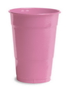 Creative Converting 28304281 Candy Pink Plastic Cups, 16 Oz Solid (Case of 240)