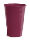 Creative Converting 28312281 Burgundy Plastic Cups, 16 Oz Solid (Case of 240)