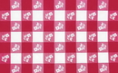 Creative Converting 37288 Red Gingham Plastic Tablecover Stay Put 60