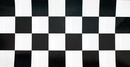 Creative Converting 37297 Black Check Plastic Tablecover Stay Put 60
