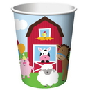 Creative Converting 375506 Farmhouse Fun 9 oz. Hot/Cold Cups (Case of 96)