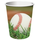 Creative Converting 377963 Sports Fanatic Baseball 9 oz. Hot/Cold Cups (Case of 96)