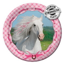 Creative Converting 415601 Heart My Horse Luncheon Plates (Case of 96)