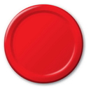 Creative Converting 501031B Classic Red Banquet Plate, Solid (Case of 240)