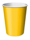 Creative Converting 561021B School Bus Yellow Hot/Cold Cup 9 Oz, Solid (Case of 240)