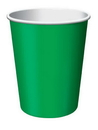 Creative Converting 56112B Emerald Green Hot/Cold Cup 9 Oz, Solid (Case of 240)