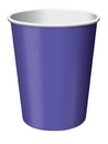 Creative Converting 56115B Purple Hot/Cold Cup 9 Oz, Solid (Case of 240)