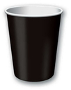 Creative Converting 56134B Black Velvet Hot/Cold Cup 9 Oz, Solid (Case of 240)