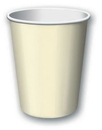 Creative Converting 56161B Ivory Hot/Cold Cup 9 Oz, Solid (Case of 240)