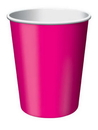 Creative Converting 56177B Hot Magenta Hot/Cold Cup 9 Oz, Solid (Case of 240)