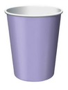 Creative Converting 56193B Luscious Lavender Hot/Cold Cup 9 Oz, Solid (Case of 240)