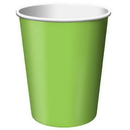 Creative Converting 563123B Fresh Lime Hot/Cold Cup 9 Oz, Solid (Case of 240)