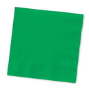 Creative Converting 57112B Emerald Green Beverage Napkin, 3 Ply, Solid (Case of 500)