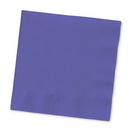 Creative Converting 57115B Purple Beverage Napkin, 3 Ply, Solid (Case of 500)