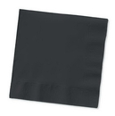 Creative Converting 57134B Black Velvet Beverage Napkin, 3 Ply, Solid (Case of 500)