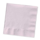 Creative Converting 57158B Classic Pink Beverage Napkin, 3 Ply, Solid (Case of 500)