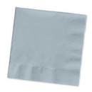 Creative Converting 573281B Shimmering Silver Beverage Napkin, 3 Ply, Solid (Case of 500)