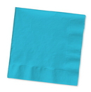 Creative Converting 573552 Bermuda Blue 2-Ply Beverage Napkins (Case of 240)