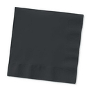 Creative Converting 58134B Black Velvet Luncheon Napkin, 3 Ply, Solid (Case of 500)