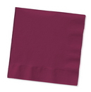 Creative Converting 583122B Burgundy Luncheon Napkin, 3 Ply, Solid (Case of 500)