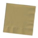 Creative Converting 583276B Glittering Gold Luncheon Napkin, 3 Ply, Solid (Case of 500)