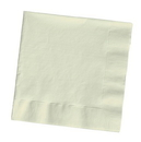 Creative Converting 59161B Ivory Dinner Napkin, 3 Ply, 1/4 Fold Solid (Case of 250)