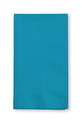 Creative Converting 593131B Turquoise 3-Ply Dinner Napkins (Case of 250)
