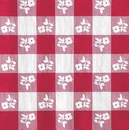 Creative Converting 659086 Red Gingham Beverage Napkin, 2 Ply (Case of 216)
