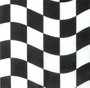 Creative Converting 660944 Black & White Check Luncheon Napkin, 2 Ply (Case of 216)