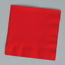 Creative Converting 661031B Classic Red Luncheon Napkin, 2 Ply, Solid (Case of 600)