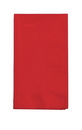 Creative Converting 671031B Classic Red 2-Ply Dinner Napkins 1/8th Fold(50pks Case)