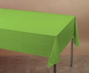 Creative Converting 723123 Fresh Lime Plastic Tablecover 54 X 108 Solid (Case of 12)